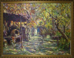Исфандиёр Хайдаров. Дом в Хумсане. 1998
