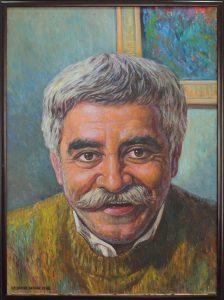 Исфандиёр Хайдаров. Портрет Левента Кырча. 1998