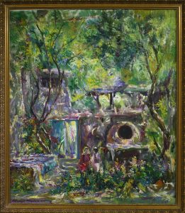 Исфандиёр Хайдаров. Зелённый сад. 2007