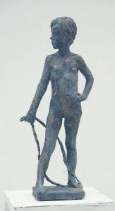 Паруб Михаил.  Девочка со скакалкой. 1981