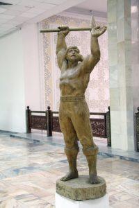 Паруб Михаил.  Фархад призывающий. 1987.