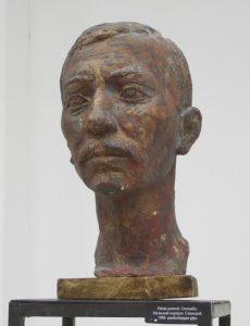 Паруб Михаил.  Мужской портрет. Геннадий. 1986