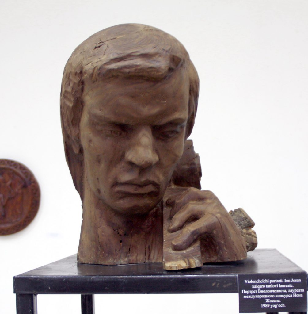 Паруб Михаил. Портрет Виолончилиста, лауреата международного конкурса Иона Жосана. 1989