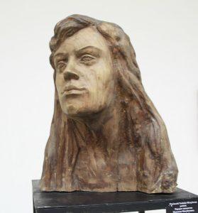 Паруб Михаил. Портрет пианистки Надежды Михайловой. 1978