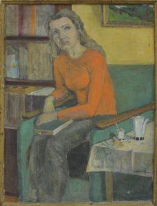 Паруб Михаил. Портрет соседки Юлии. 2002