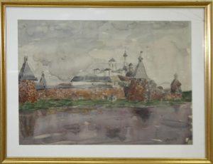Паруб Михаил. Соловецкий монастырь. 1973