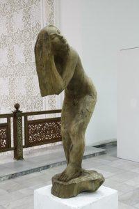 Паруб Михаил. Утро. расчёсывающая волосы. 1989