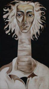 Баходир Закиров. Автопортрет. 2005