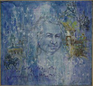 Батыков А. Портрет Мансурова - Ковригенко. 2010