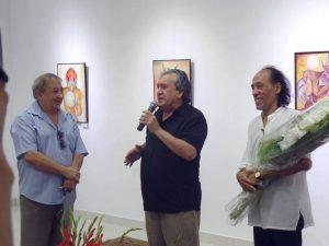 На открытии выставки-1