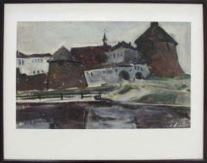 Абдуллаев С. Монастырь Словецка. 1970