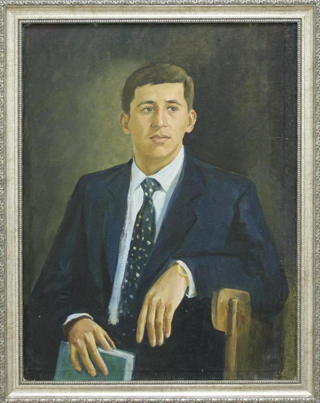 Абдуллаев Ж. Автопортрет. 2002