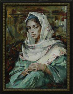 Арт-Трио. Портрет девушки. 2007