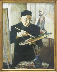 Бердыев Ф. Портрет художника Малик Набиева 2005