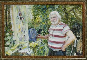Бердыев Ф. Портрет художника Я. Салпинкиди 2015