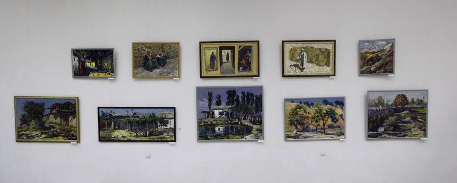 Экспозиция Дилором Мамедовой