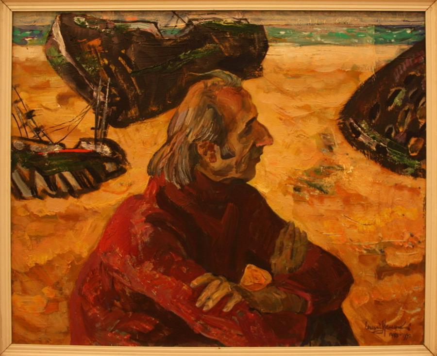 Евгений Мельников. Дума об Арале. 1988