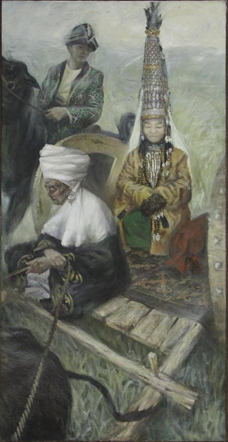 Фазылбеков Э. Степи. 2015
