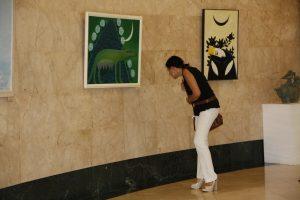 На выставке-1