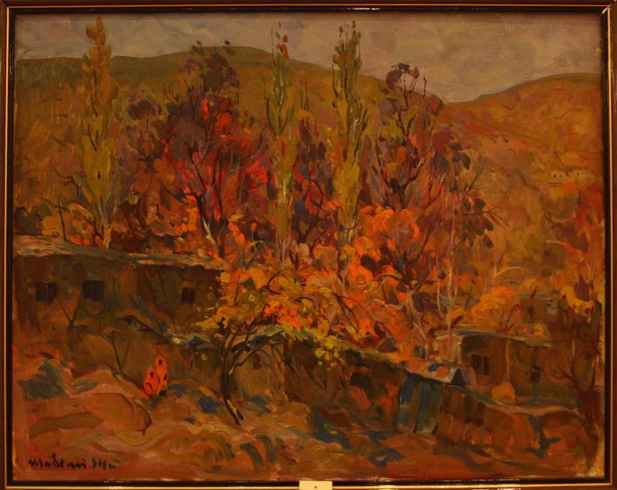 Шавкат Пирматов. Осень в горах. 1944