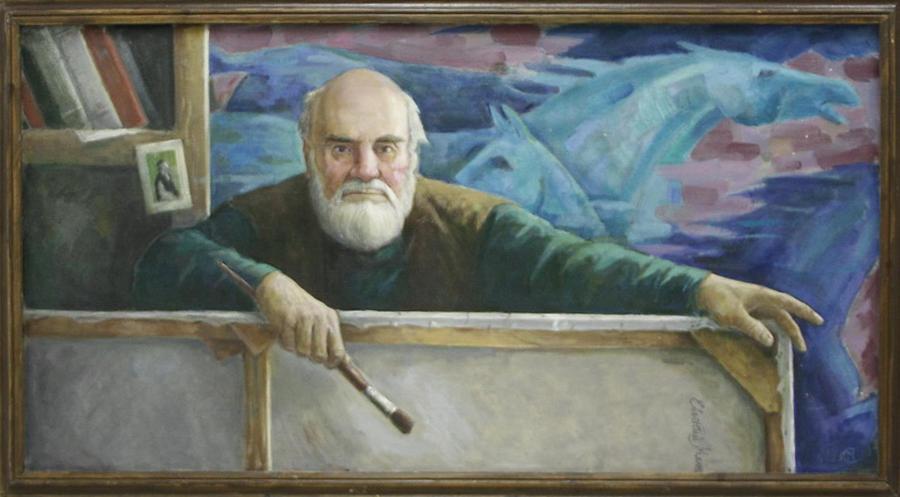 Собиров М. Портрет Е. Мельникова. 2006-2007
