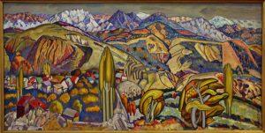 Янис Салпинкиди. Панорама Ходжикента. 1995