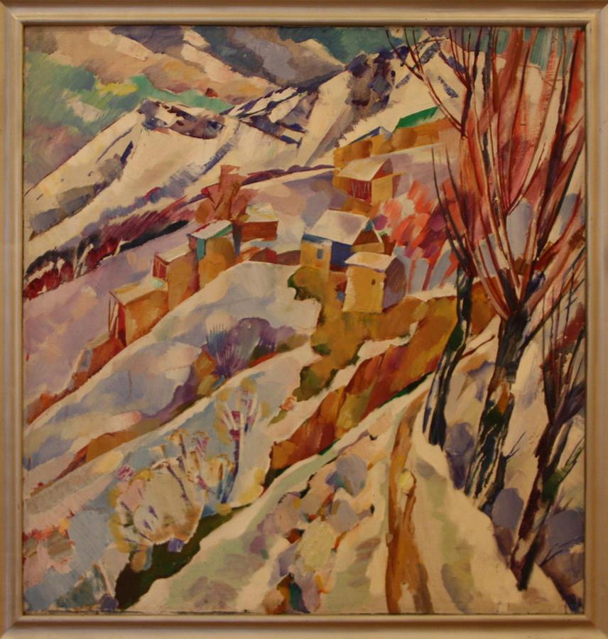 Юрий Чернышов. Морозный день. 1993