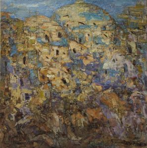 Хива. Вечер. Р.Гаглоева. 1998