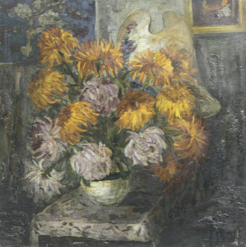 Хризантаема. Р. Гаглоева. 1999