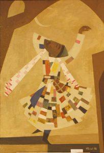 Мансуров Ринат. Танцующий дервиш. 1998