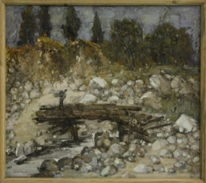 Мост Ак-булак. Р. Гаглоева. 1998