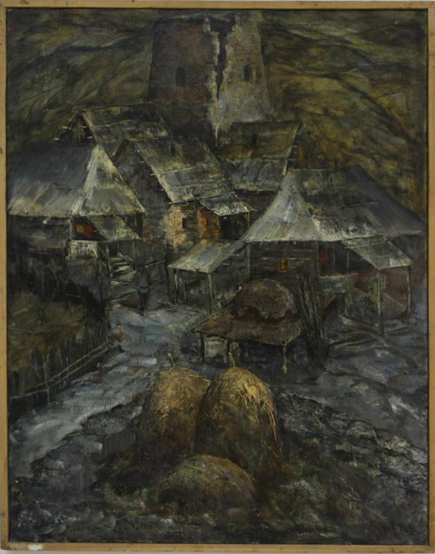 Моя Осетия. Р. Гаглоева. 1983