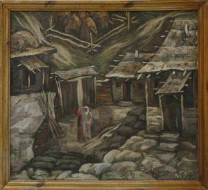 Осень. Р. Гаглоева. 1999