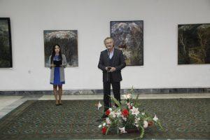 Открытие персональной выставки Риммы Гаглоевой