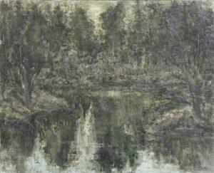 Озеро в горах. Р.Гаглоева