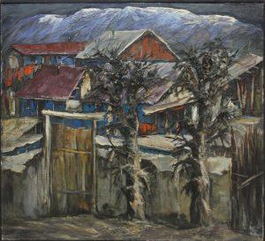 Ранняя весна. Р.Гаглоева. 1991
