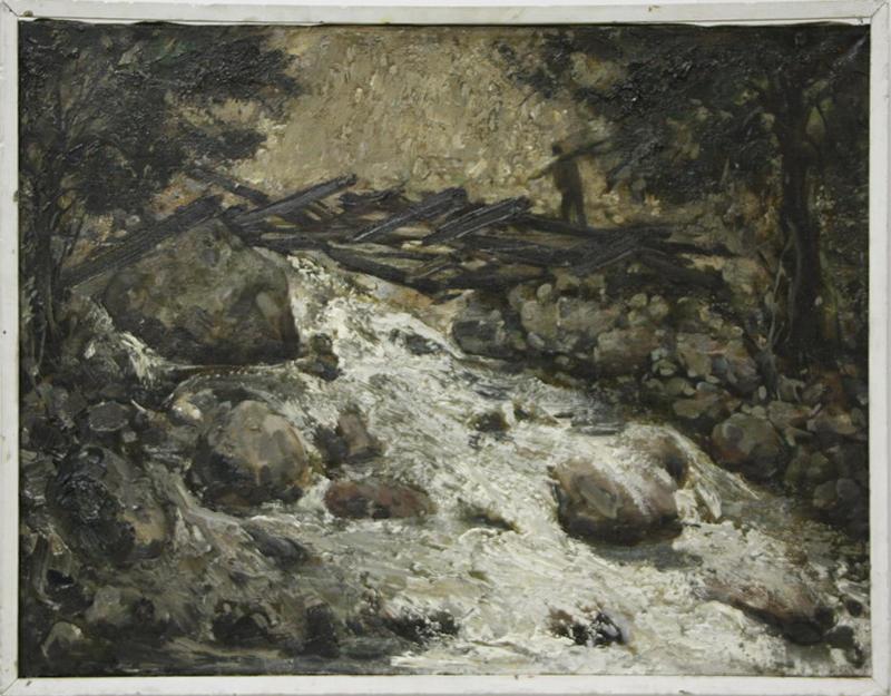 Река Саргардон. Р.Гаглоева. 1999