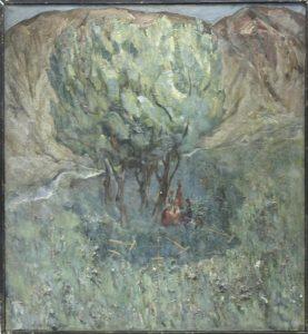 Сенокос. Р.Гаглоева. 1985 (ДХВ)