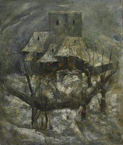Суровая зима 1941. Р. Гаглоева. 1985 (ДХВ)