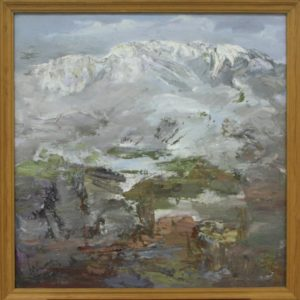 Туман на Чимгане. Р.Гаглоева. 2004