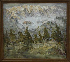 Туман.Чимган. Р.Гаглоева. 2004