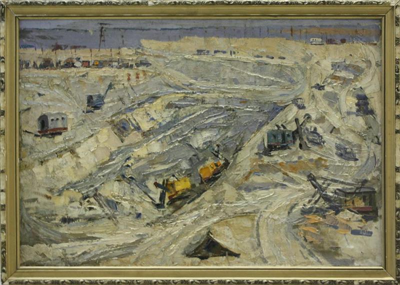 Туямуюкское водохранилище. Р. Гаглоева. 1969