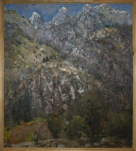 Вечер в горах. Р.Гаглоева. 1999