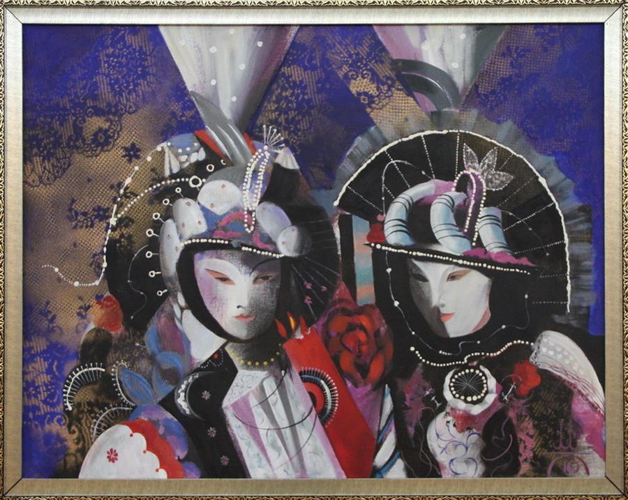 Медат Кагаров. Венецианский карнавал.