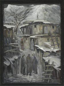Зима. Старик.Сарчашма. Р.Гаглоева. 1989 - 2003