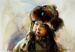 Бат Оршихын, «Бурте», Монголия