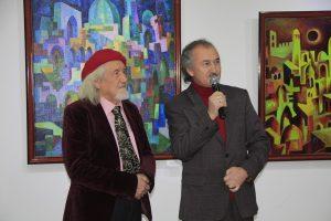 Два Академика, В.Бурмакин и его ученик А.Нур.