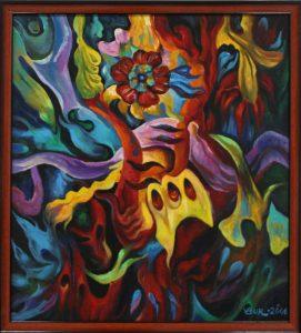 Экзотический цветок. В.Бурмакин. 2007