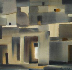 Марат Садыков. Вечер. 2004 60x70