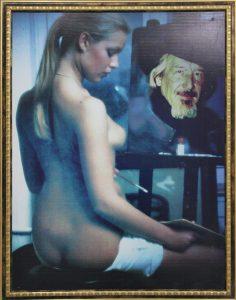 Художник и модель. В.Бурмакин. 2005